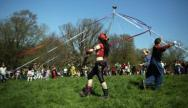 May Day Celebrations In Glastonbury